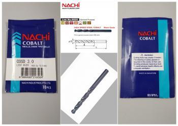 Mũi khoan inox NaChi
